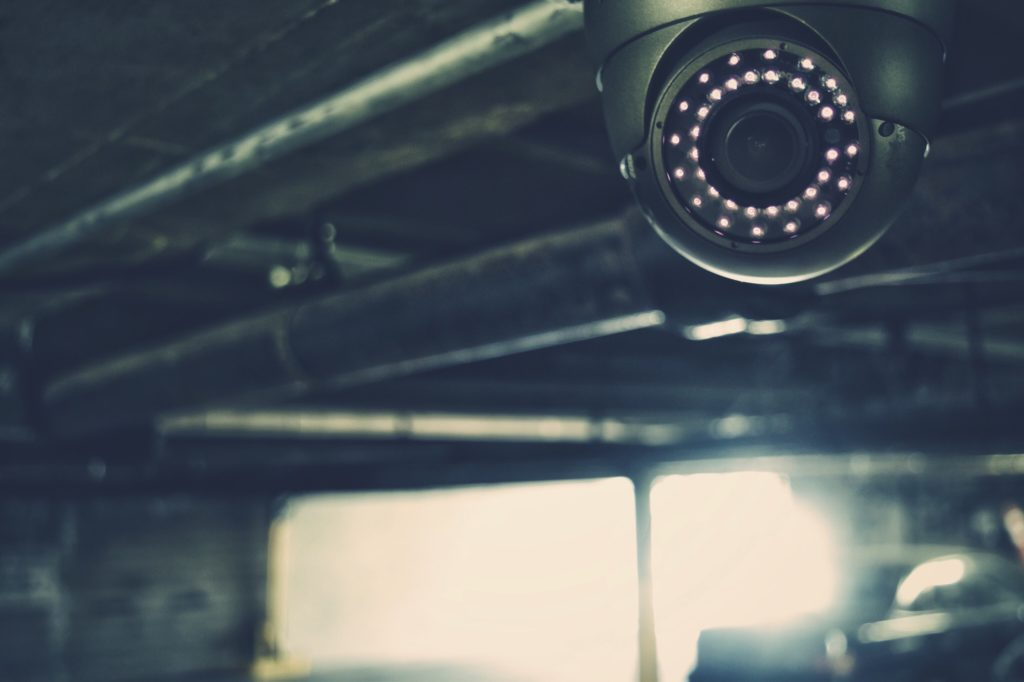Cameras are always watching.